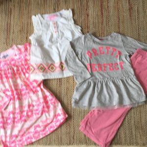 Lot of 4 OSHKOSH 3t clothes